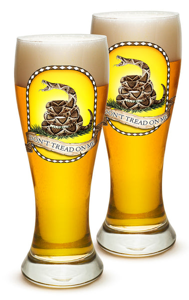 23 Ounces Pilsner Glass Don't Tread On Me