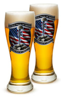 23 Ounces Pilsner Glass High Price Of Freedom - Star Spangled 1776
