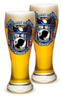 23 Ounces Pilsner Glass POW True Heroes