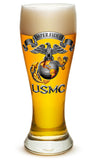 23 Ounces Pilsner Glass USMC-SEMPER FIDELIS