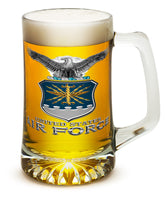 25 Ounces Tankard AIR FORCE USAF Missile - Star Spangled 1776