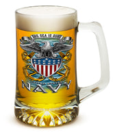 25 Ounces Tankard NAVY Full Print Eagle - Star Spangled 1776