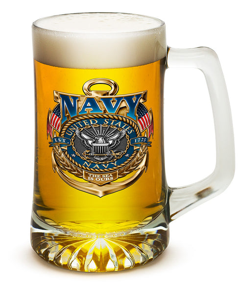 25 Ounces Tankard Navy The Sea Is Ours - Star Spangled 1776