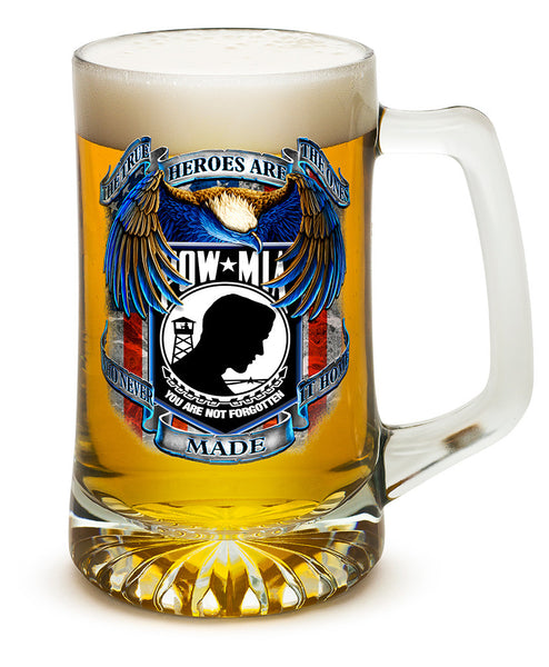 25 Ounces Tankard POW True Heroes - Star Spangled 1776
