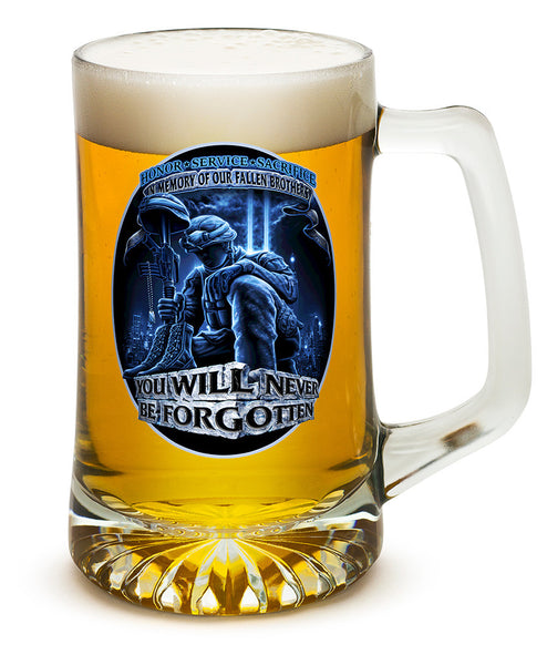 25 Ounces Tankard You Will Never Be Forgotten - Star Spangled 1776