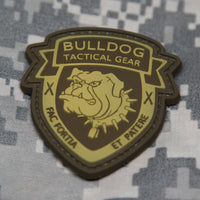 Bulldog Tactical Gear Desert PVC Morale Patch - Star Spangled 1776
