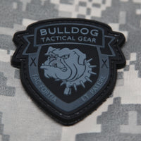 Bulldog Tactical Gear SWAT Black PVC Morale Patch - Star Spangled 1776