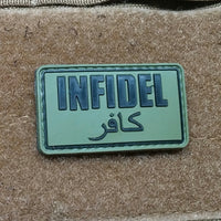 Infidel OD Green PVC Morale Patch - Star Spangled 1776