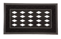 Sassafras Decorative Mat Tray Scroll Black 18x30 - Star Spangled 1776