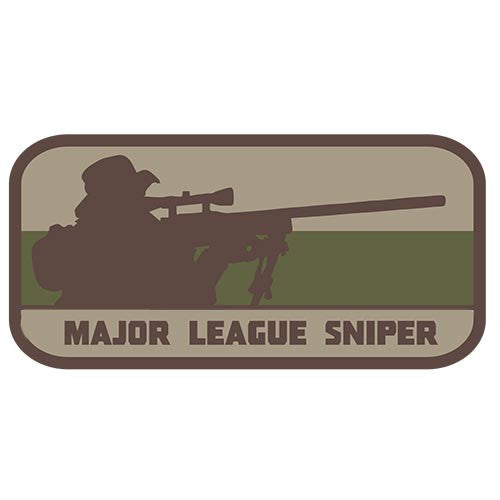 Major League Sniper Embroidered Hook Back Patch - Star Spangled 1776