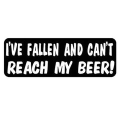I've Fallen Helmet Sticker- 4 X 1