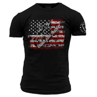 Come And Take It T-Shirt- Grunt Style Enlisted Nine Tee Shirt - Star Spangled 1776
