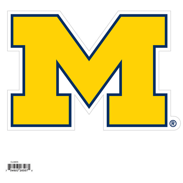 Michigan Wolverines 8 Inch Logo Magnet - Star Spangled 1776