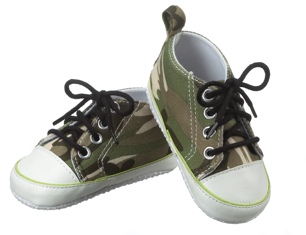 Baby Camo Shoes - Star Spangled 1776
