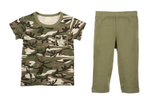 Baby Camo Top and Pant Set - Star Spangled 1776