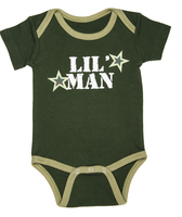 Boy Camo Onesie Lil Man - Star Spangled 1776