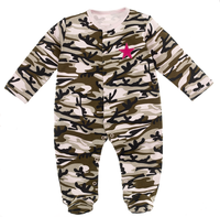 Girl Camo Sleeper - Star Spangled 1776