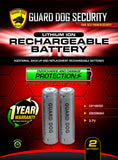 Lithium Ion Rechargeable Battery 2-Pack - Star Spangled 1776