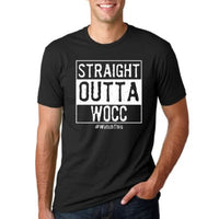Straight Outta WOCC T-Shirt- Army Warrant Officer Tee Shirt - Star Spangled 1776