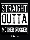 Straight Outta Mother Rucker T-Shirt- Fort Rucker Army Tee Shirt - Star Spangled 1776
