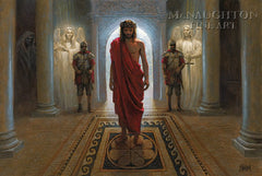 Awaiting the Command Lithograph Art Print by Jon McNaughton