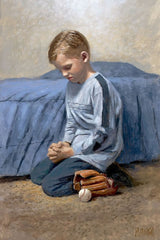 Did You Think To Pray Lithograph Art Print by Jon McNaughton