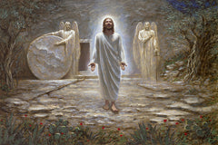 He Is Risen Lithograph Art Print by Jon McNaughton