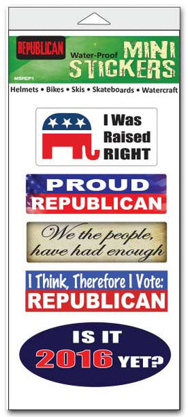 Republican Pack Vinyl Stickers - Star Spangled 1776
