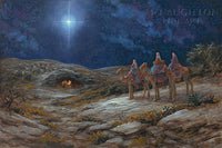 Star of Bethlehem Lithograph by Jon McNaughton- 10 X 15 OE - Star Spangled 1776