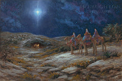Star of Bethlehem Lithograph Art Print by Jon McNaughton- 10 X 15 OE
