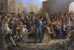 Via Dolorosa Lithograph Art Print by Jon McNaughton