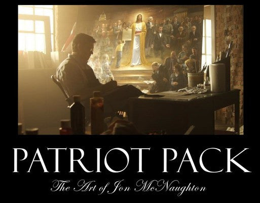 Patriot Pack Jon McNaughton 6 X 9 Prints (10 Pack) - Star Spangled 1776
