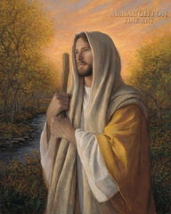 Loving Savior Lithograph Art Print by Jon McNaughton