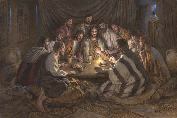 The Last Supper Lithograph by Jon McNaughton - Star Spangled 1776