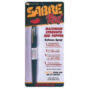 Sabre Red Red Pepper Spray Pen - Star Spangled 1776