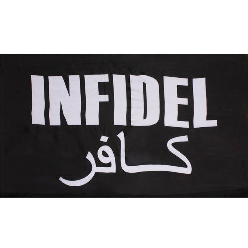 Infidel Black 3 X 5 Polyester Flag - Star Spangled 1776