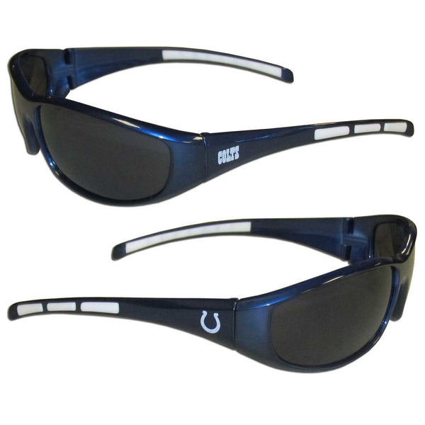 Indianapolis Colts NFL Football Team Wrap Sunglasses - Star Spangled 1776
