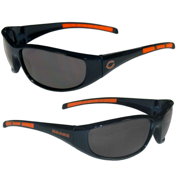 Chicago Bears NFL Football Team Wrap Sunglasses - Star Spangled 1776