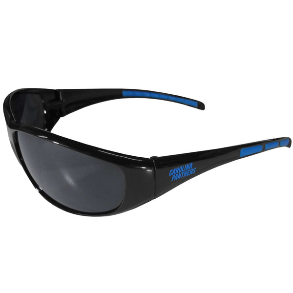 Carolina Panthers NFL Football Team Wrap Sunglasses - Star Spangled 1776
