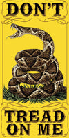 Don't Tread On Me Patriotic Beach Pool Bath Towel- 30IN x 60IN - Star Spangled 1776