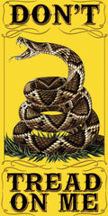 "Don't Tread On Me Patriotic Beach Pool Bath Towel- 30"" x 60"""