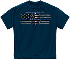 Law Enforcement T-Shirt- Blue Lives Matter Navy