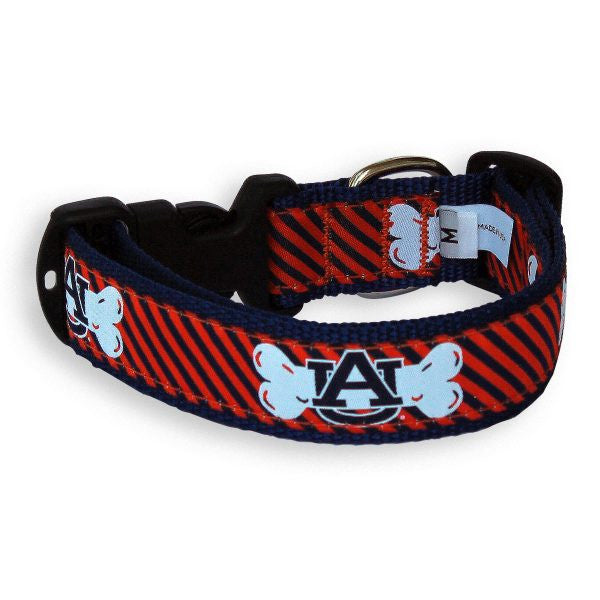 Dog Collar- University of Auburn - Star Spangled 1776