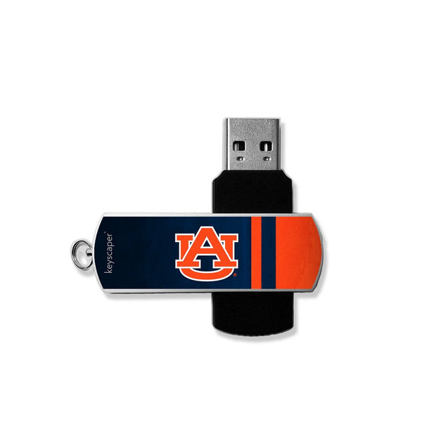 Auburn Tigers USB 8GB Flash Drive - Star Spangled 1776