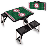 Picnic Table Sport Alabama Crimson Tide Black - Star Spangled 1776