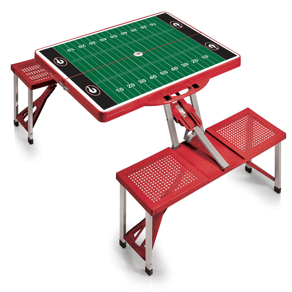 Picnic Table Sport Georgia Bulldogs Red - Star Spangled 1776