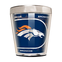 Denver Broncos 2oz Acrylic/Stainless Steel Shot Glass w/Metallic Graphics - Star Spangled 1776