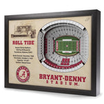 Alabama Crimson Tide StadiumView Wall Art - Bryant-Denny Stadium - Star Spangled 1776