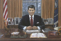Ronald Reagan It Can Be Done Giclee Canvas Limited Edition Print - Star Spangled 1776