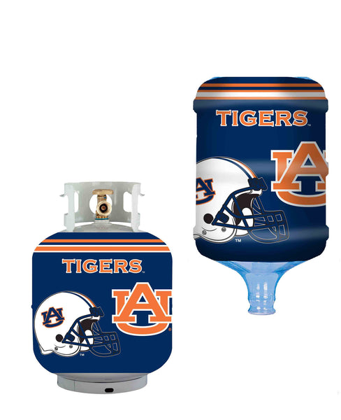 Auburn Tigers Propane 5 Gal Water Bottle Cover - Star Spangled 1776
